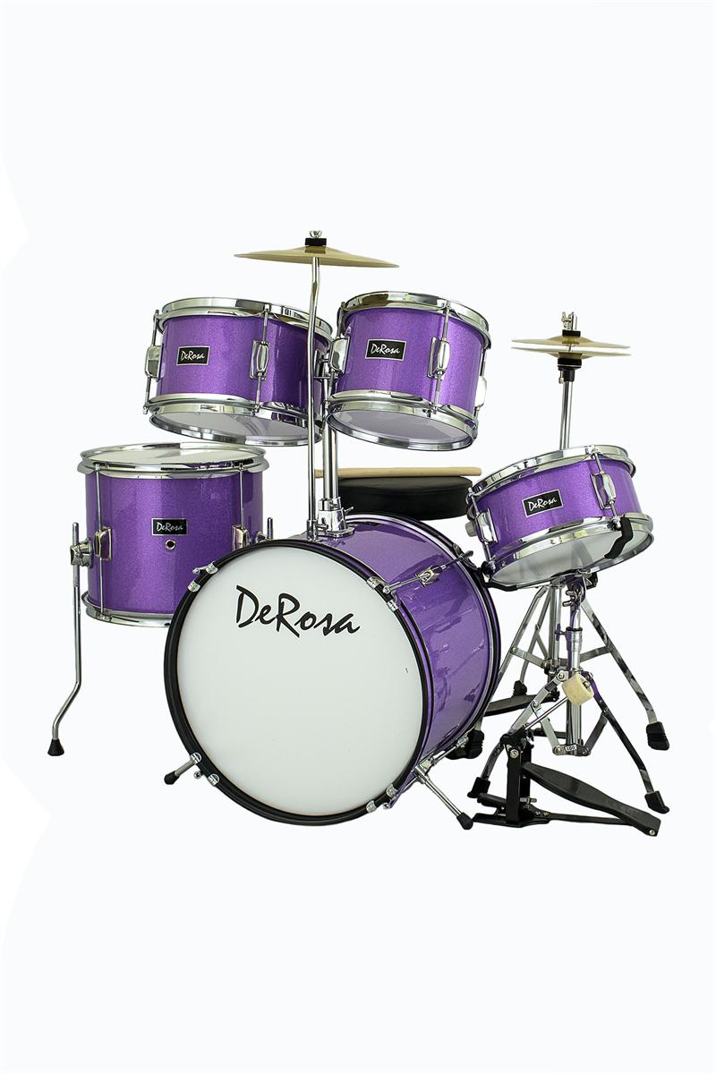 De Rosa Drm516 Spl 5 Piece 16 Quot Kid S Junior Drum Set