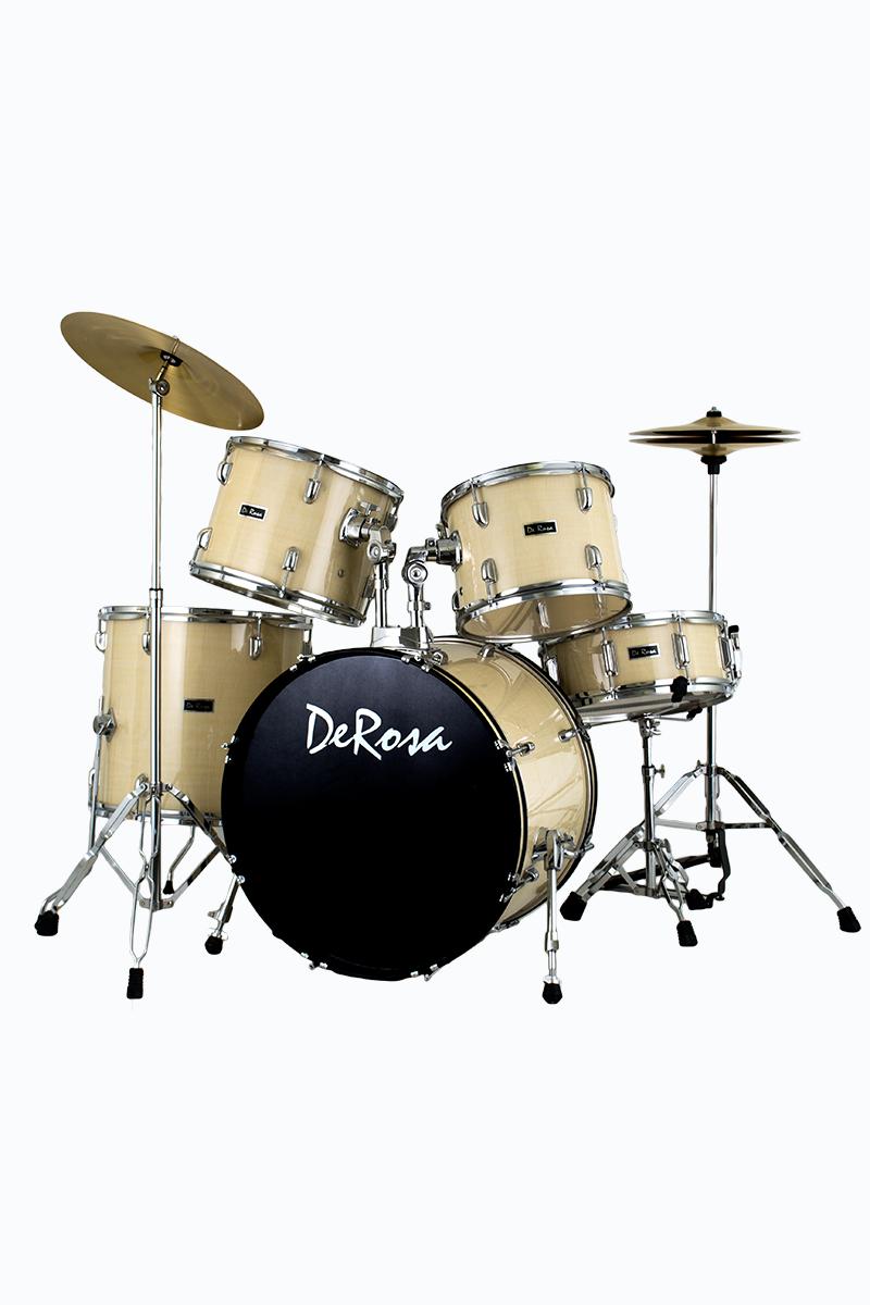 de rosa drm522 map 5 piece drum kit maple. Black Bedroom Furniture Sets. Home Design Ideas