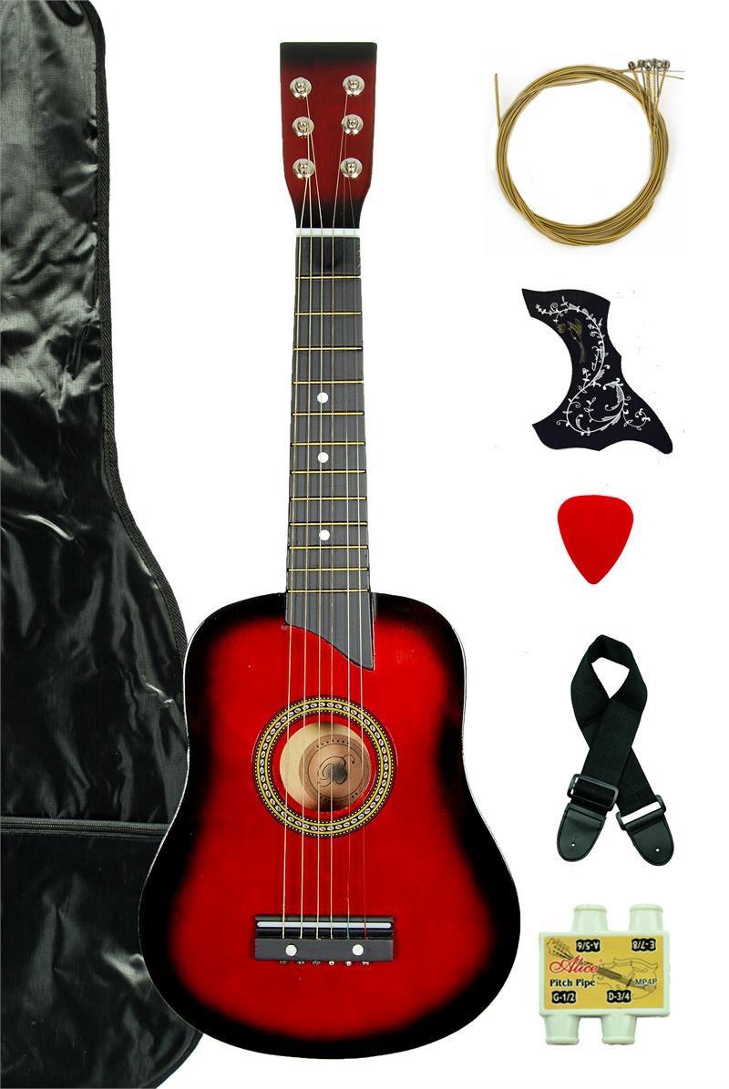 kids 25 toy guitar ga2511r rd red. Black Bedroom Furniture Sets. Home Design Ideas
