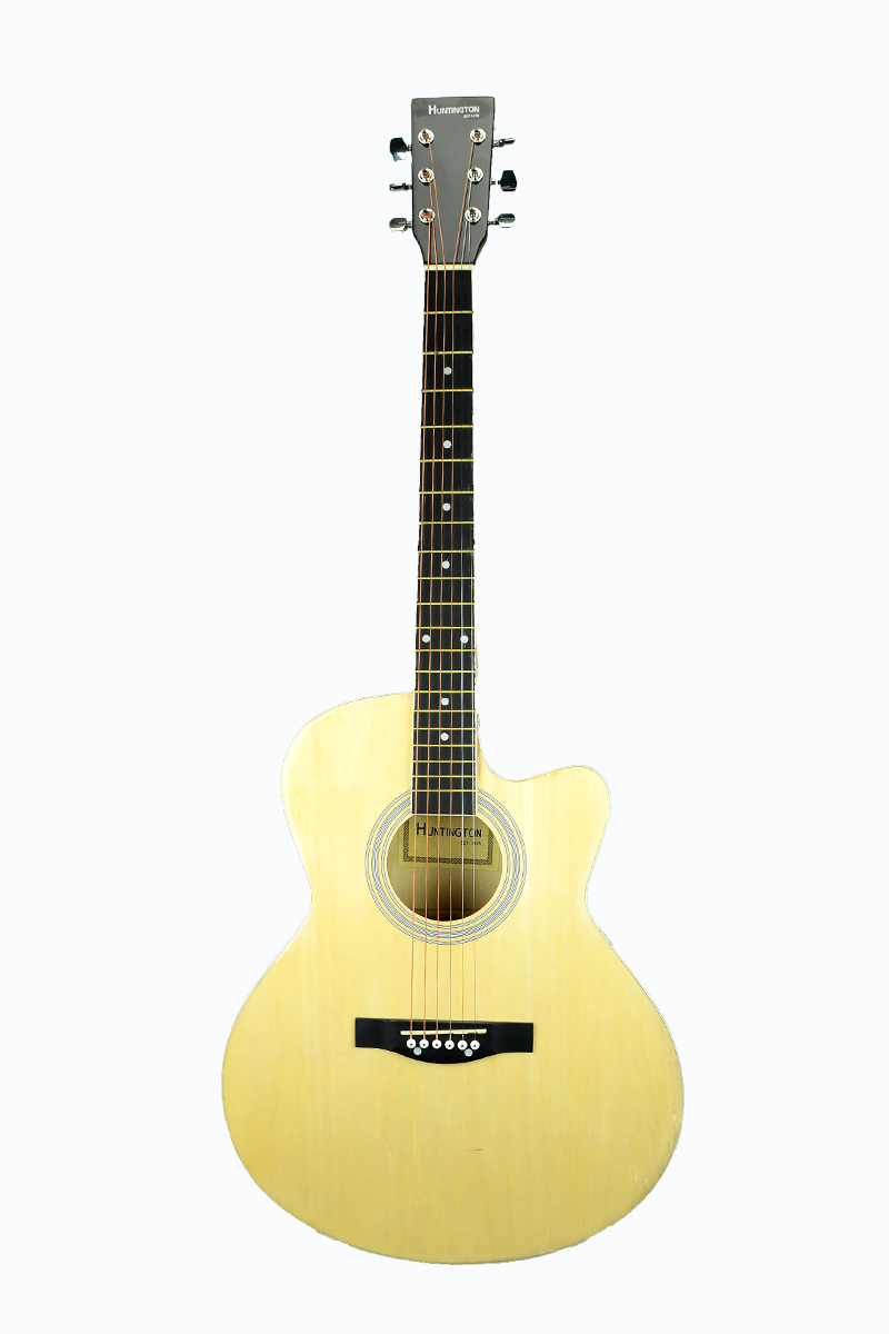 Huntington Ga40c Nt Dreadnought Cutaway Acoustic Guitar