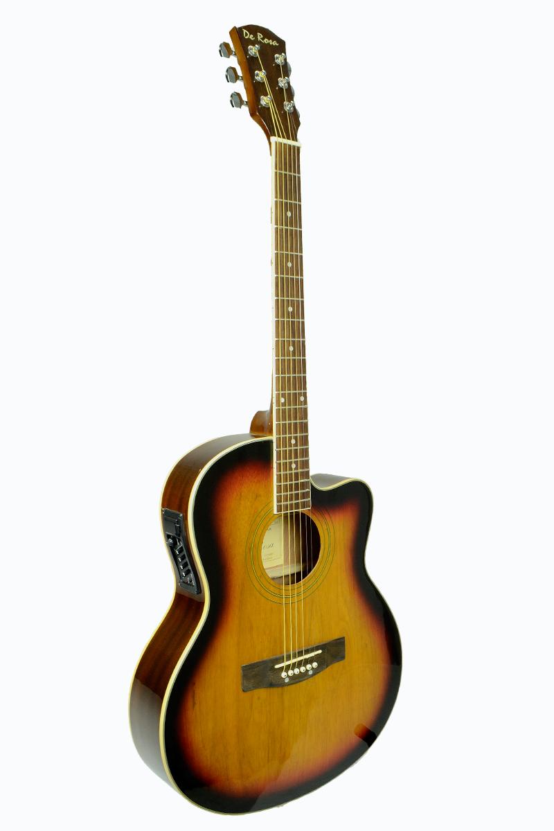 De Rosa Ga700ce Ts Cutaway Acoustic Electric Thin Body Guitar