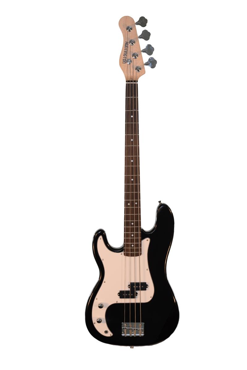 huntington gb143p bk lft 4 string precision electric bass guitar left handed. Black Bedroom Furniture Sets. Home Design Ideas