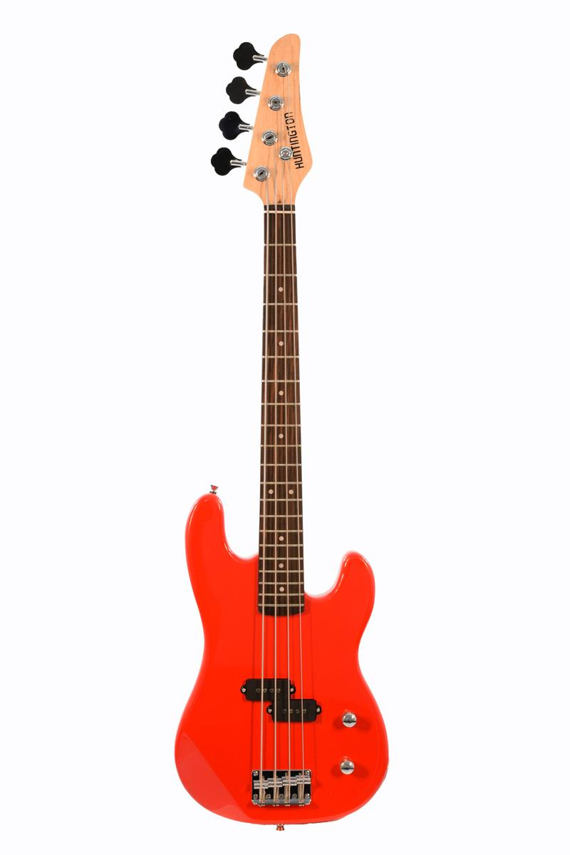 huntington gb34 rd 4 string short scale electric bass guitar. Black Bedroom Furniture Sets. Home Design Ideas