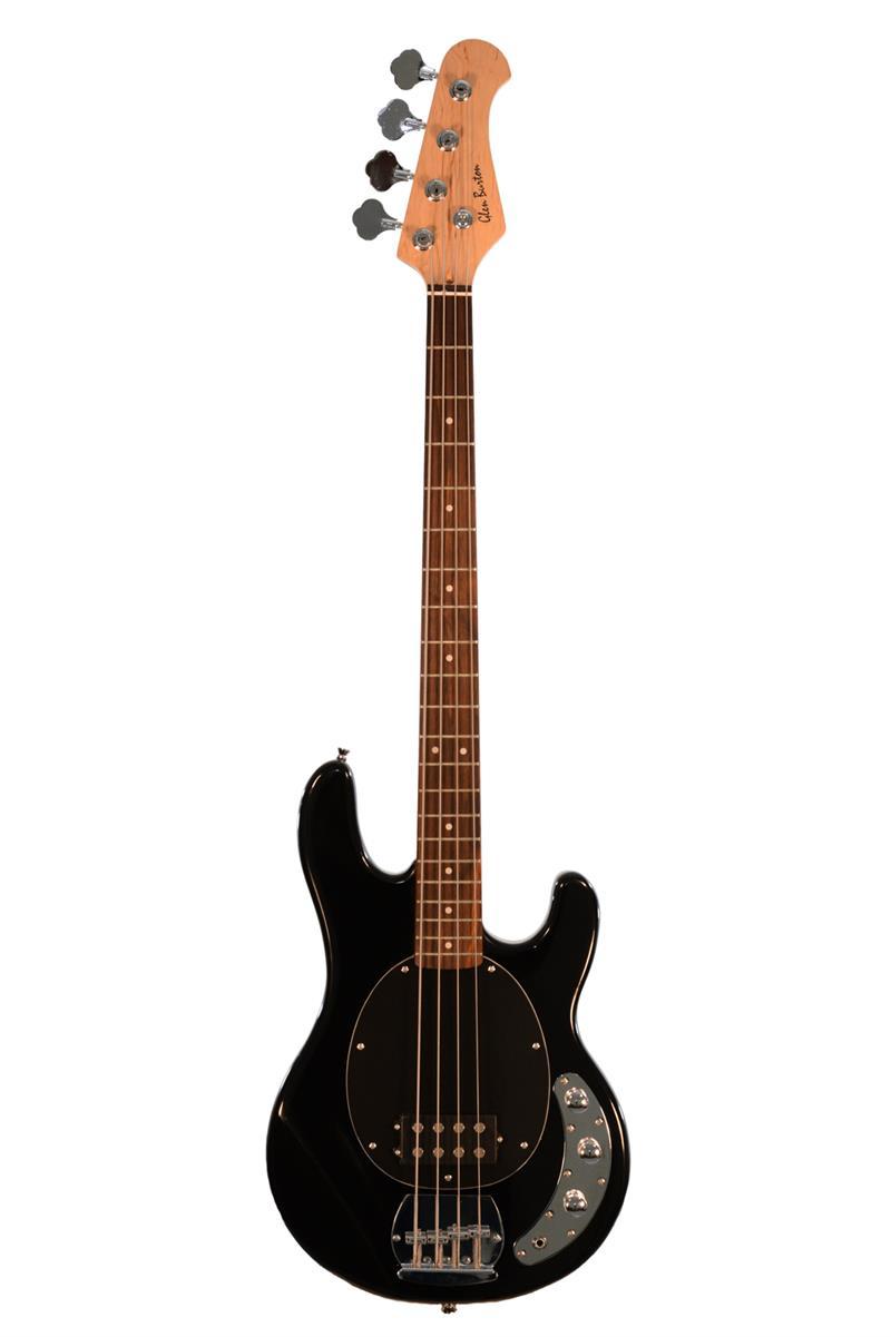 glen burton electric rock bass gbmm1 bk 4 string solid body bass guitar. Black Bedroom Furniture Sets. Home Design Ideas