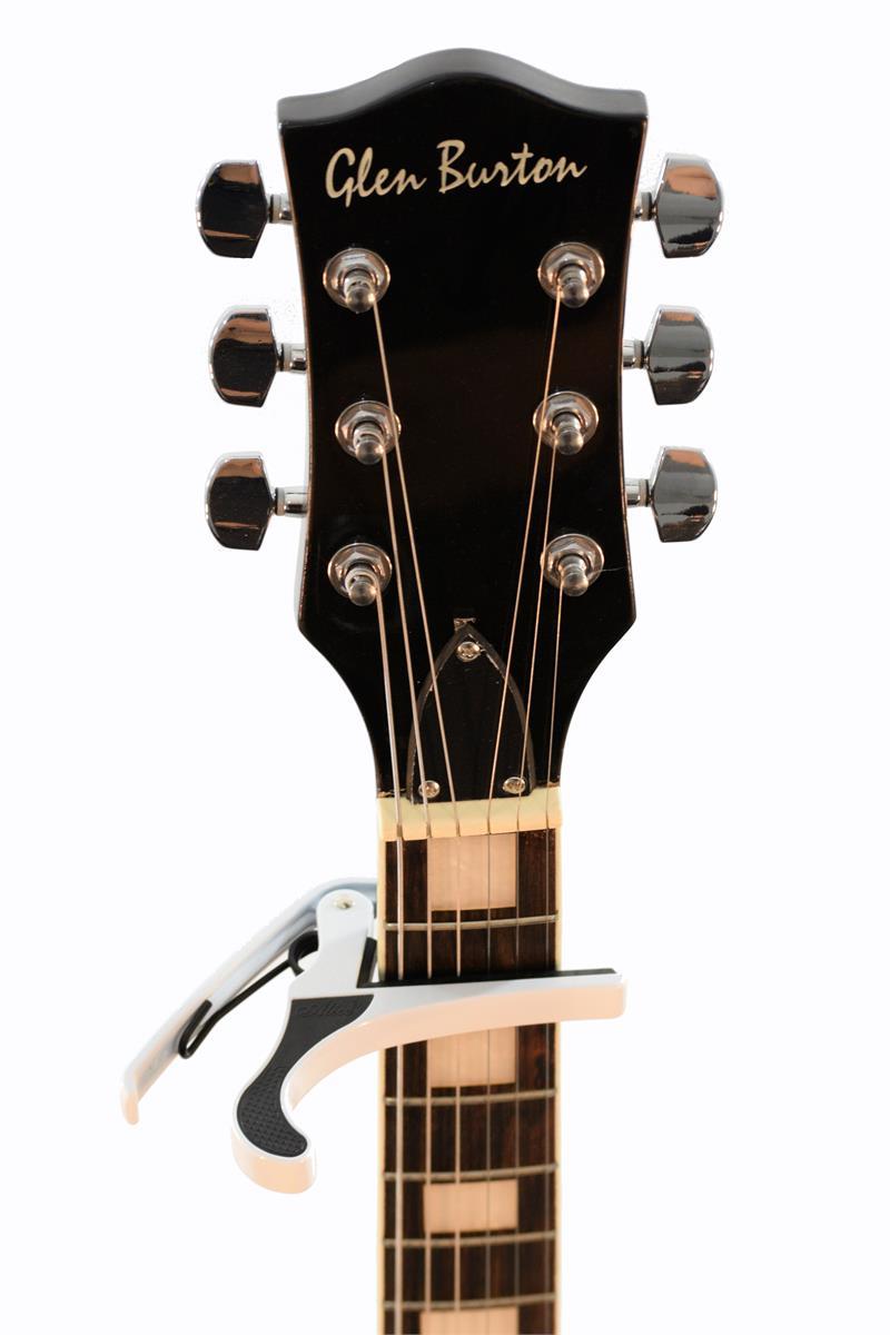 alice gc aoo7c wh advanced alloy acoustic guitar capo. Black Bedroom Furniture Sets. Home Design Ideas