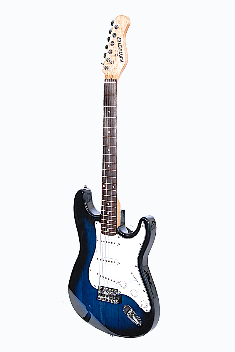 huntington ge139 bls outlaw solid body s type electric guitar. Black Bedroom Furniture Sets. Home Design Ideas