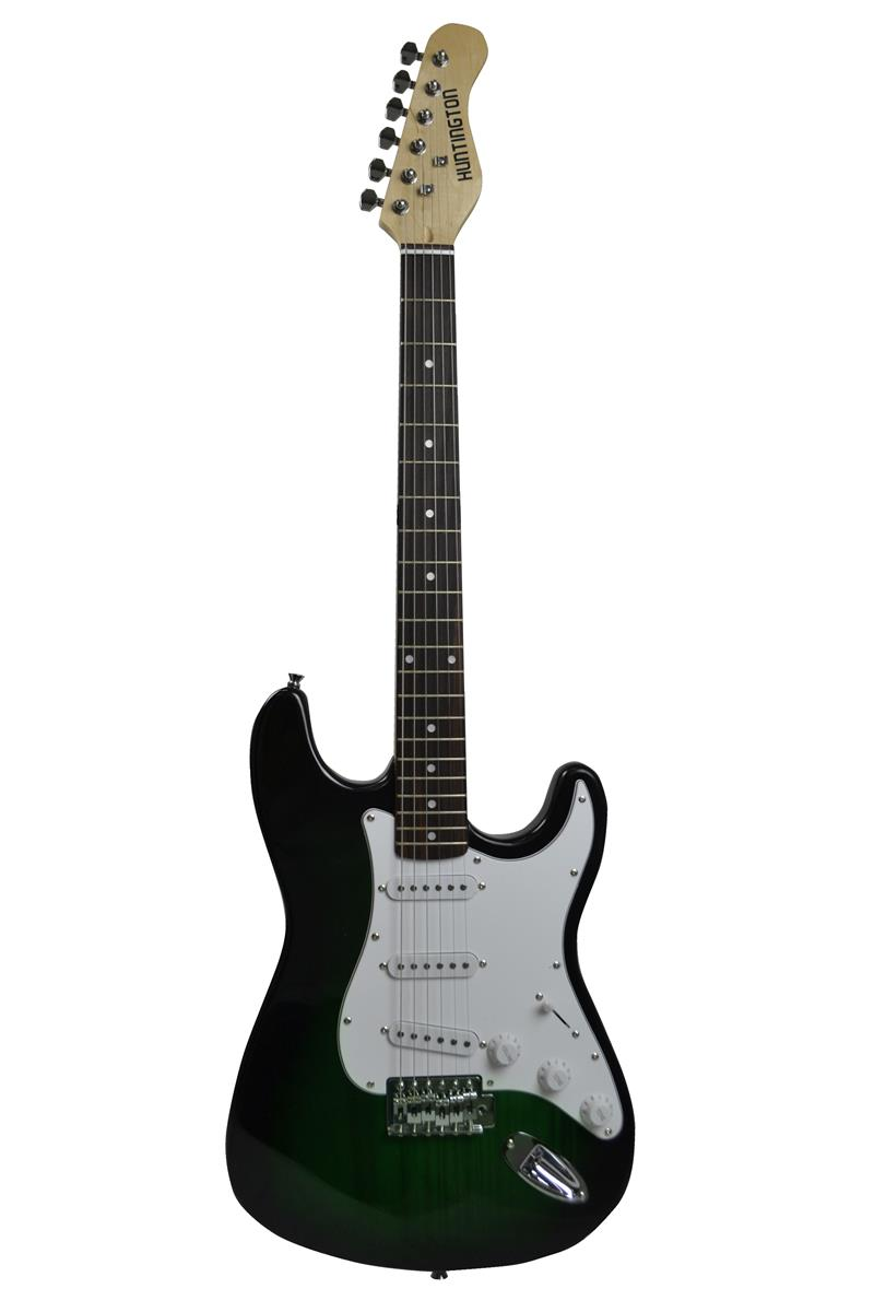 huntington ge139 grs outlaw solid body s type electric guitar. Black Bedroom Furniture Sets. Home Design Ideas