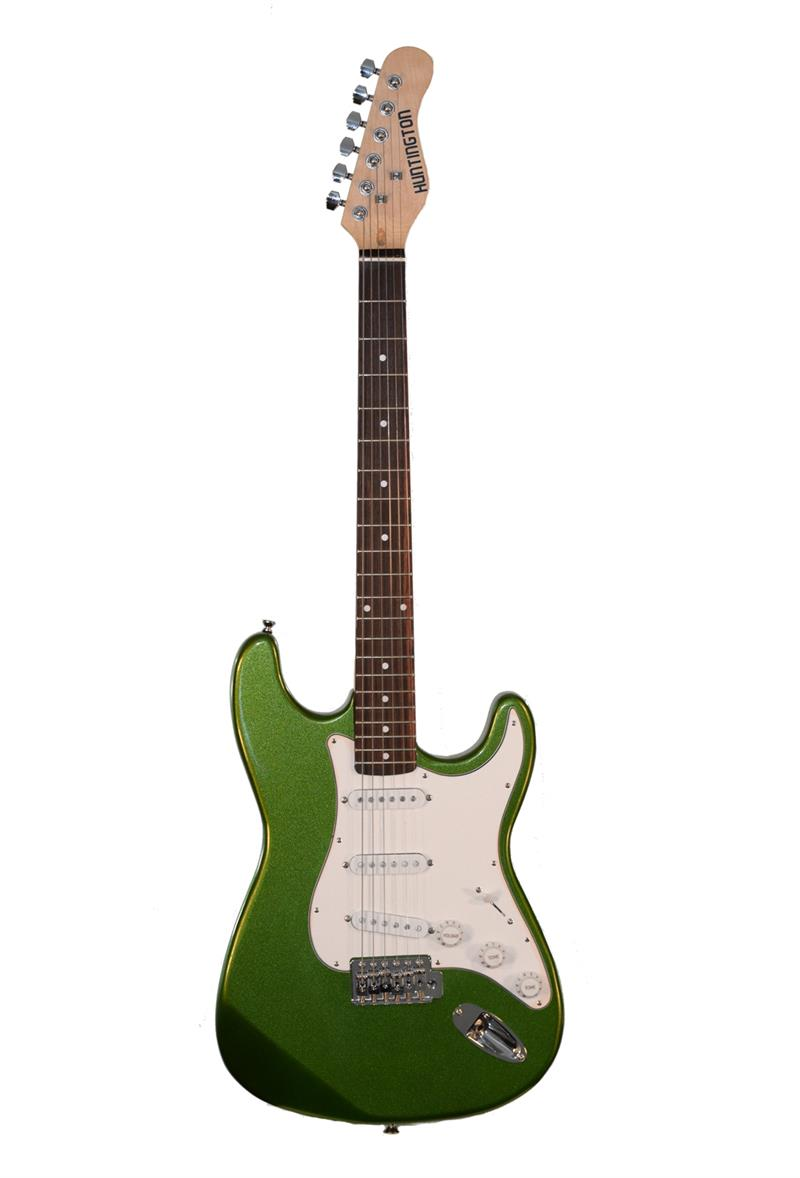 huntington ge139 mgr outlaw solid body s type electric guitar. Black Bedroom Furniture Sets. Home Design Ideas