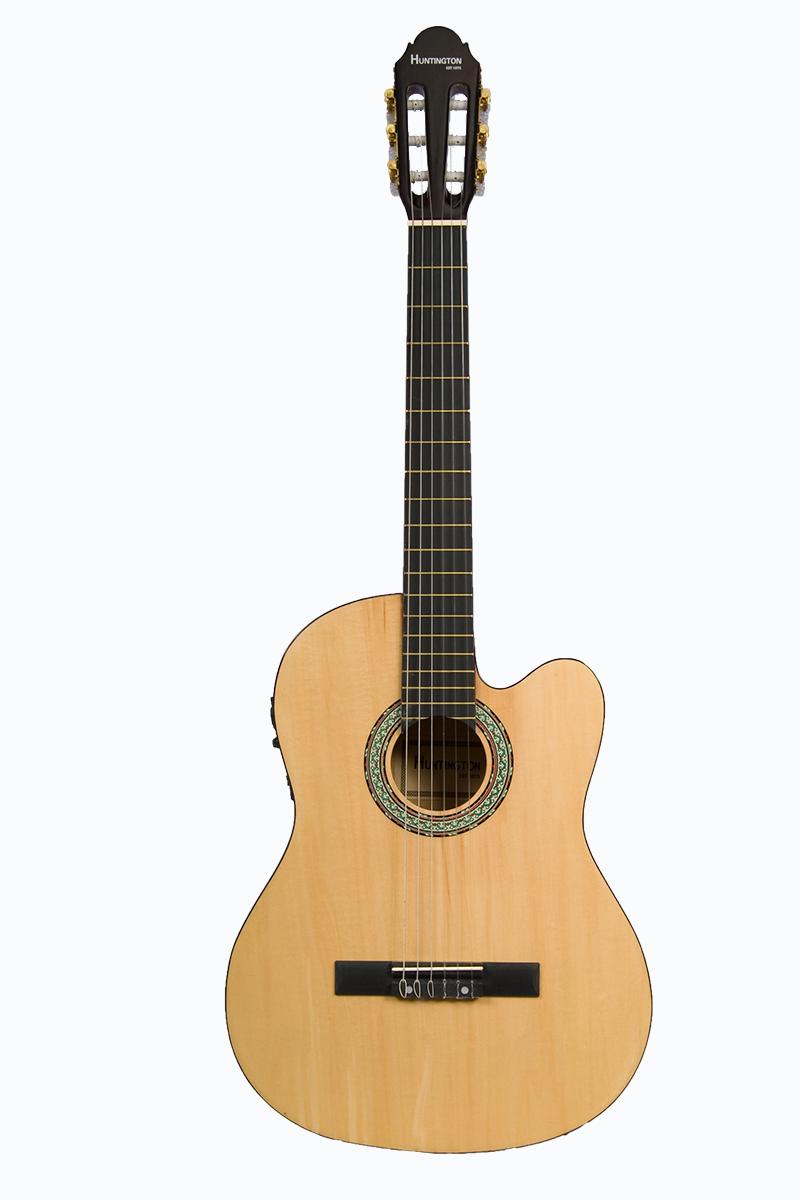 Huntington Gf39ce Nt Cutaway Acoustic Electric Classical