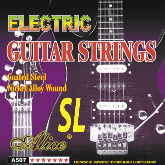 alice st a507sl steel nickel alloy wound electric guitar strings. Black Bedroom Furniture Sets. Home Design Ideas