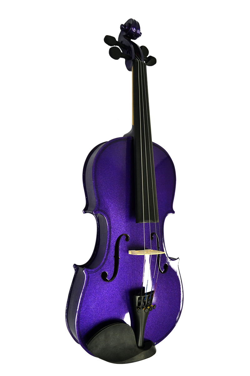 Colored Violin Ensemble Purple Vi4412r Pl