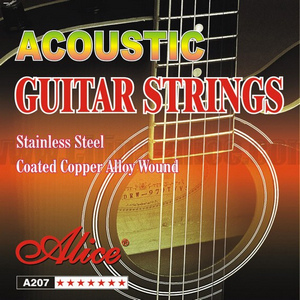 alice st a207sl acoustic guitar stainless steel coated copper strings. Black Bedroom Furniture Sets. Home Design Ideas