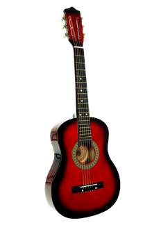 toy ga3200r rd 32 acoustic guitar. Black Bedroom Furniture Sets. Home Design Ideas