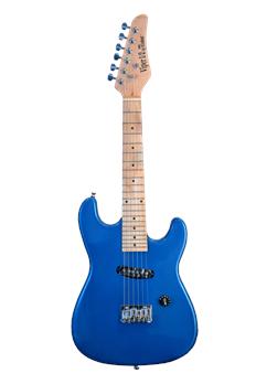 the viper 1 2 ge32 mbu kids 32 half size electric guitar blue. Black Bedroom Furniture Sets. Home Design Ideas
